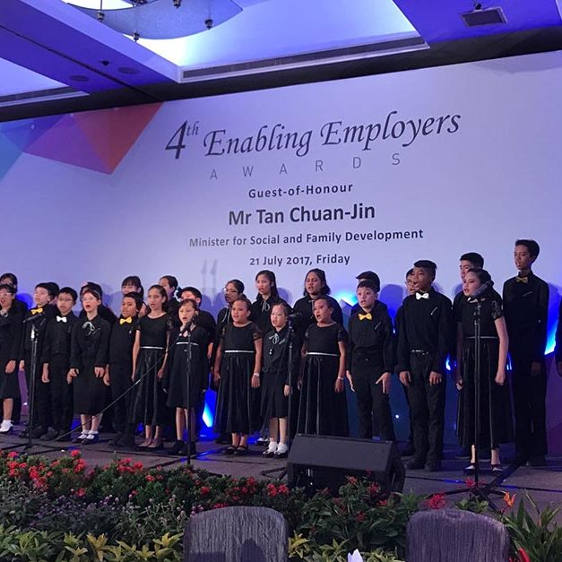 Performance at Enabling Employers Award Ceremony organised by SG Enable.